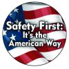 Safety Hard Hat Labels - Safety First