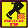 Safety Traffic Cone Accessories - Watch Your Step