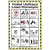 Conveyor Safety Poster - Pallet Conveyor Safety