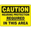 Eco-Friendly Signs - Caution Hearing Protection Required In This Area