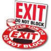 Exit Path Marking Kits - Exit Do Not Block