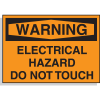 Warning Labels - Electrical Hazard Do Not Touch