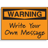 Hazard Warning Labels - Warning Header Only