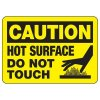 OSHA Caution Signs - Hot Surface Do Not Touch