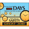 LED Message Safety Scoreboard - Make Time For Safety