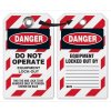 Danger Don't Operate Equipment Lockout Tag