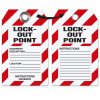 Lockout Point Equipment Description - Heavy Duty Plastic Tag Lockout Tag