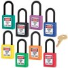 Master Lock® Dielectric Thermoplastic Safety Padlocks - Keyed Alike