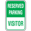 Parking Signs - Reserved Parking Visitor