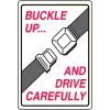 Seat Belt Signs - Buckle Up And Drive Carefully