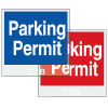 Windshield Decals Stock Parking Permit Tags
