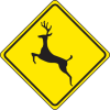 Traffic Signs - Deer Crossing
