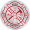 Emergency Response Hard Hat Decals- Fire Rescue