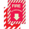 Fire Extinguisher Photoluminescent Signs
