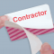 Stock ONEStep TIMEbadge® - Contractor