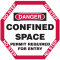 Manhole Warning Barrier - Confined Space