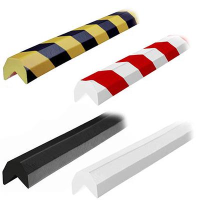 D Shape Corner Protector - 1-1/2W x 1-1/2H x 16-2/5'L