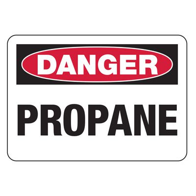 Danger Signs - Propane