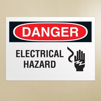 Danger Signs - Electrical Hazard