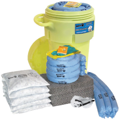 DAWG® 50 Gallon Wheeled Overpack Spill Kits