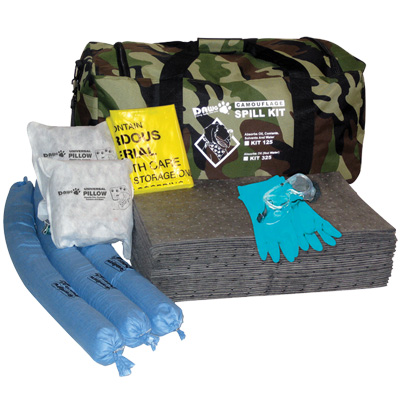 DAWG® Camouflage Duffle Bag Spill Kits