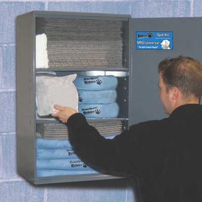 DAWG® Large Wall Mount Spill Kits