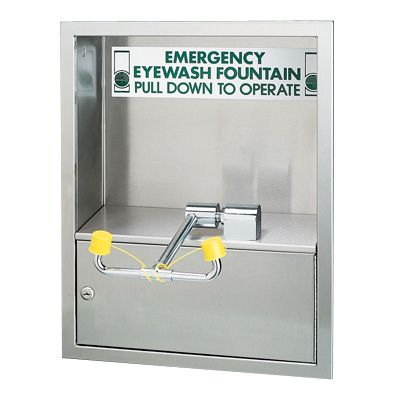 Deck-Mounted Swing-Down Eye/Facewash S19-270JD