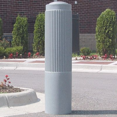Ribbed Post Bollard Sleeves