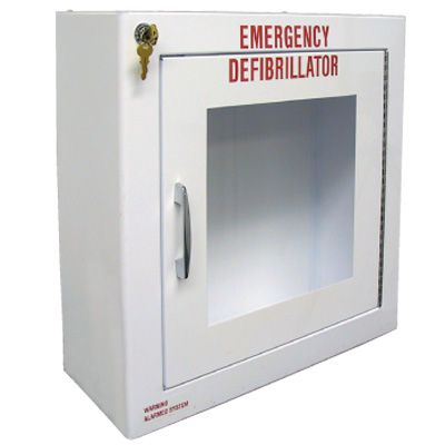Large Defibrillator AED Cabinet With Alarm