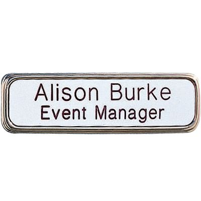 Custom Deluxe Engraved Badges With Frames