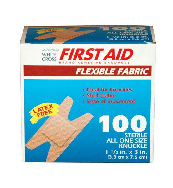 Derma Sciences Flexible Knuckle Bandage 1602033
