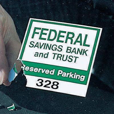 Destructable Windshield Parking Permit Decals