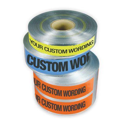 Custom Underground Warning Tapes