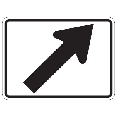 Directional Arrow Traffic Signs - Diagonal Right Arrow