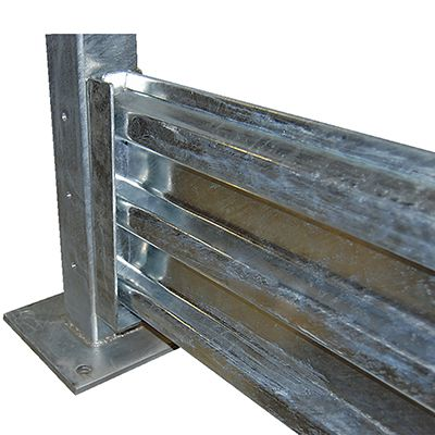 Drop-In Structural Guard Rail Section