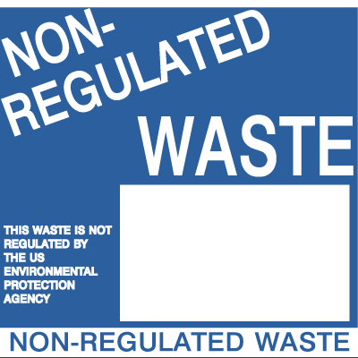 Drum Identification Labels - Non-Regulated Waste