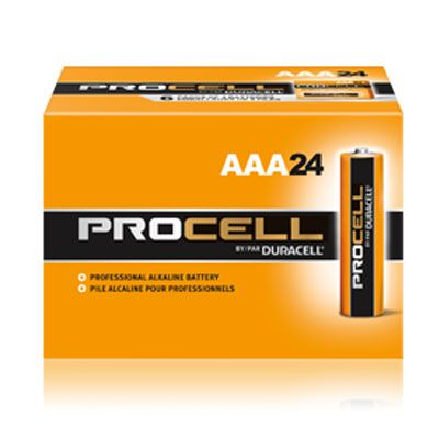 Duracell® Procell® AAA Batteries PC2400BKD