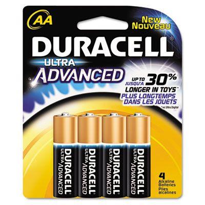 Duracell® Ultra Advanced Alkaline Batteries DURQU1500B4Z