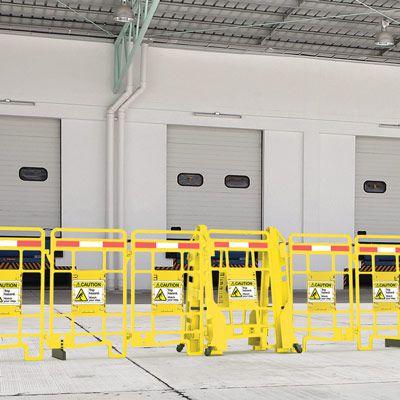 Seton EasyProtect™ Folding Barricade - Caution Trip Hazard