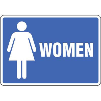 Eco-Friendly Signs - Women