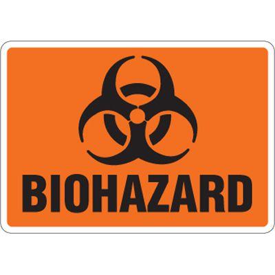 Eco-Friendly Signs - Biohazard