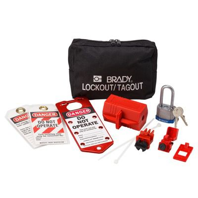 Brady Electrical Lockout Pouch - Part Number - 65291 - 1/Each