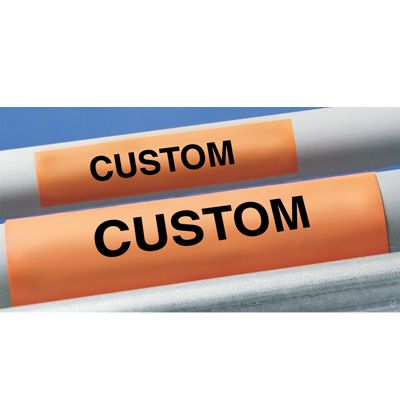 Custom Electrical Conduit Markers