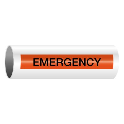Emergency - Self-Adhesive Electrical Markers