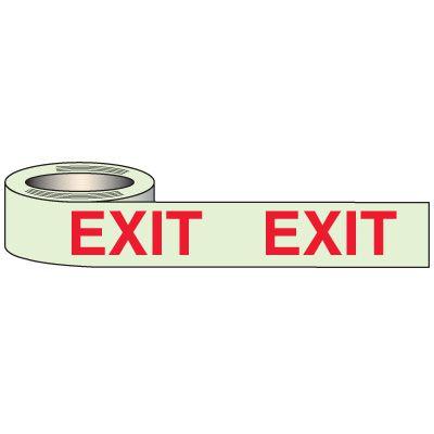 Glow In The Dark Exit Tape