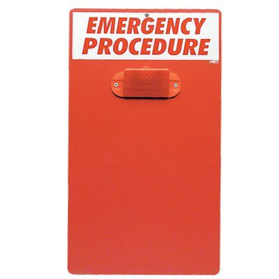 Emergency Procedure Clipboard