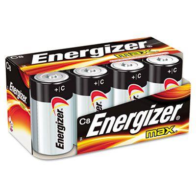 Energizer® MAX® Alkaline C Batteries EVEE93FP8