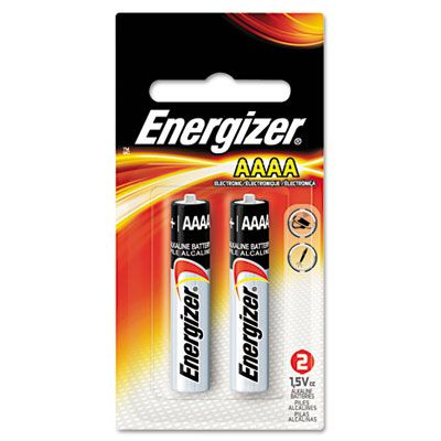Energizer® MAX® Alkaline AAAA Batteries EVEE96BP2