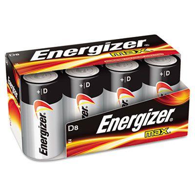 Energizer® MAX® Alkaline D Batteries EVEE95FP8