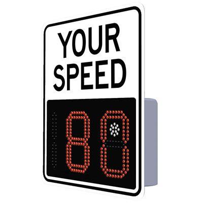 SafePace® EV12 Radar Feedback Sign